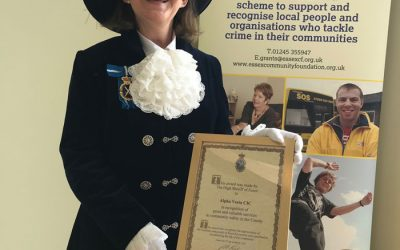 Alpha Vesta nominated for the Essex Police Cup in the 2021 Essex High Sheriff's Awards